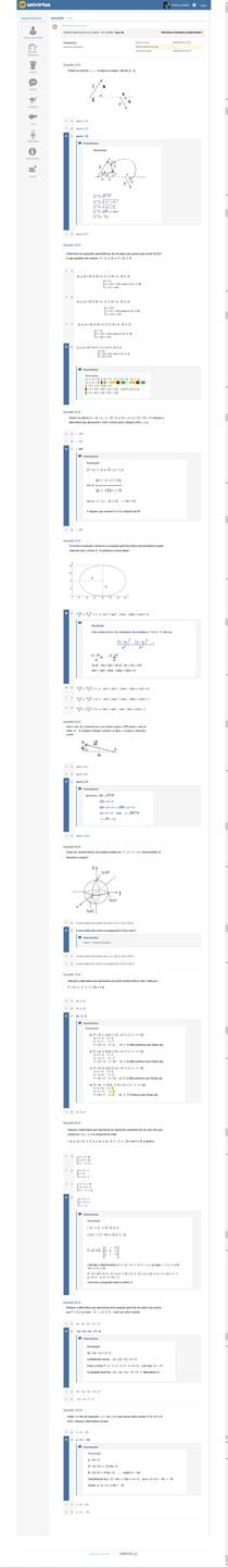 AP Geometria Analitica.
