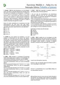 M2A12-13 - Polialelia e Epistasia
