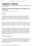 ARTIGO_ ALIENAÇÃO PARENTAL SEGUNDO A LEI 12