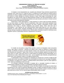 Tungíase   Resumo de Artrópodes   Micologia e Parasitologia   UFCSPA