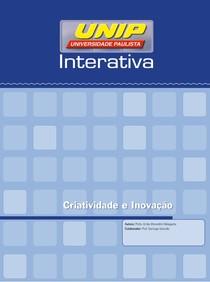 Livro-Texto - Unidade I criatividade