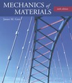 mechanics of materials  James Gere