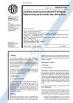 NBR 5748   Analise quimica de cimento Portland   Determinacao de oxido de calcio livre