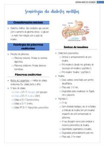 Semilogia da diabetes mellitus