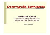 Aula 14 (Validação de métodos cromatográficos)