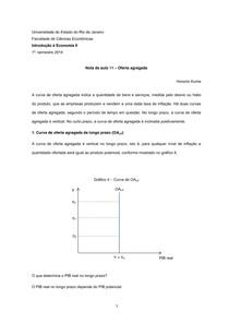 Nota de aula 11 ÔÇô Oferta agregada