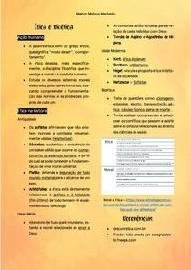 Resumo - Ética e Bioética - Pré-Vestibular