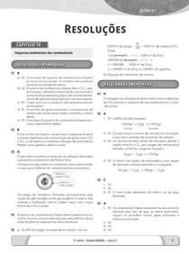 Química 1 Capítulo 10 SAS 2ª ano