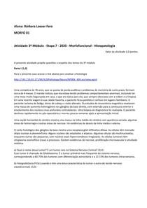 Atividade Patologia Neurologia