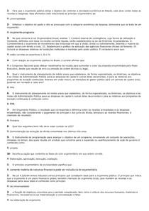 SIMULADO ORÇAMENTO PUBLICO