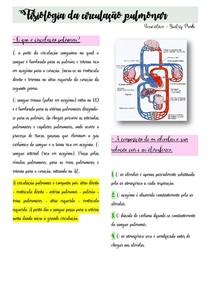 Fisiologia da circulação pulmonar