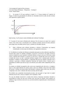 Bioquímica Avaliação 1