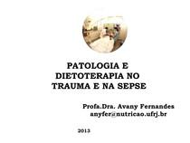 AULA TRAUMA E SEPSE  2013