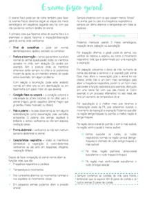 Funções vitais, mucosas e linfonodos. Exame físico