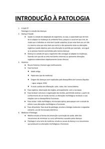 INTRODUÇÃO À PATOLOGIA docx