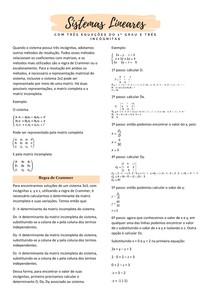 Sistemas lineares Parte2