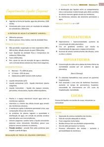 AULA 1 - COMPARTIMENTO DOS LIQUIDOS CORPORAIS