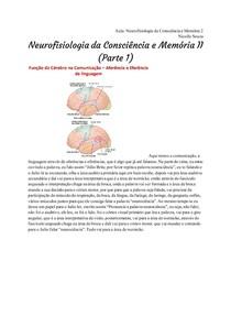 Transcrição_ Neurofisiologia da Consciência e Memória 2