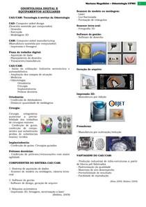 Odontologia Digital e Equipamentos Auxiliares