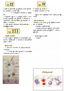 Hiperssensibilidade tipos II, III, IV