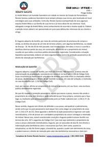 CIVIL_Civil__Parte_Geral___Posse_e_Propriedade__simulado_oab_2_2011_2