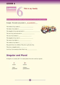 Lesson 6- English for you