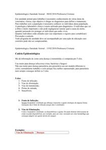 Sanidade Animal - Resumão N2