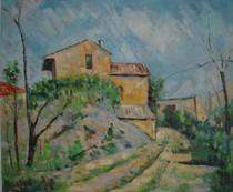 Paul Paul Cézanne - Maison Maria with a View of Chateau Noir