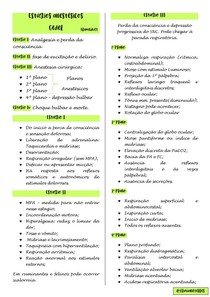 Estagios Anestesicos