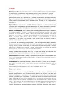 RESUMO P1 e P2 - Ensino Social Cristão (ESC)