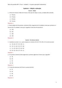 As Quatro Operacoes 6 Ano Exercicios Matematica