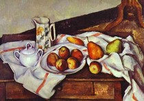 Paul Paul Cézanne - Still Life of Peaches and Pears