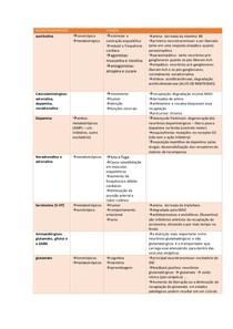TABELA DE NEUROTRANSMISSORES