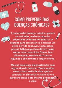 Como se prevenir de doenças crônicas?