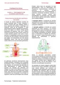Farmacologia- Tratamento de úlceras gástricas