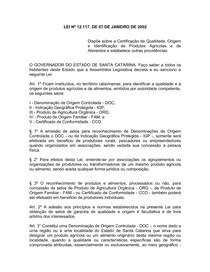 lei_12117_2002_certificacao_quali_origem_indentif_prodagricolas_alimentos_sc_dec_4323_2002_altr_normas