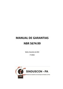 Manual de Garantias Sinduscon MG