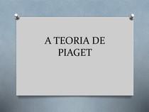 Aula 2 A TEORIA DE PIAGET