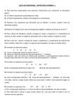 Lista de estrutura atômica