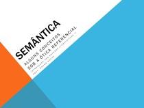 2 Semântica - Conceitos sob a ótica referencial