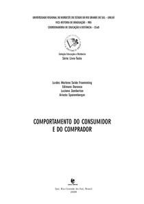 Apostila UNIJUÍ - Comportamento do Consumidor e do Comprador