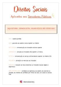 Direitos Sociais dos servidores