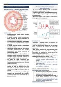 FISI01 - Motilidade do trato gastrointestinal