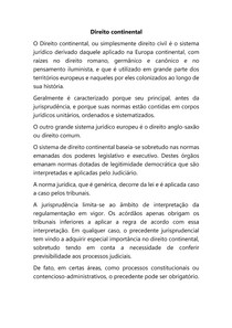 Direito continental