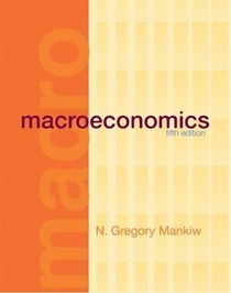 Macroeconomics - Mankiw N G  (5ed , Worth Pub , 2003