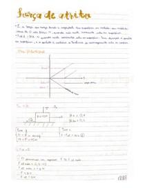 Força de atrito - Física 1