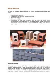 Blocos estruturais