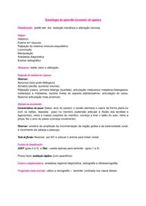 Semiologia do aparelho locomotor de equinos- RESUMO AULA