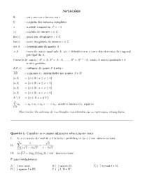 provas matematica 2015