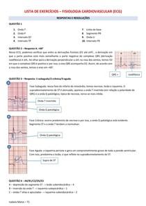 Lista de Exercícios ECG